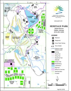 Shawnee Mission Park Map | Nature | Pinterest | Shawnee, Kansas and Park