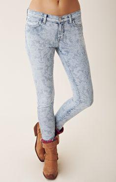 J Brand Mid Rise Skinny Leg Jean