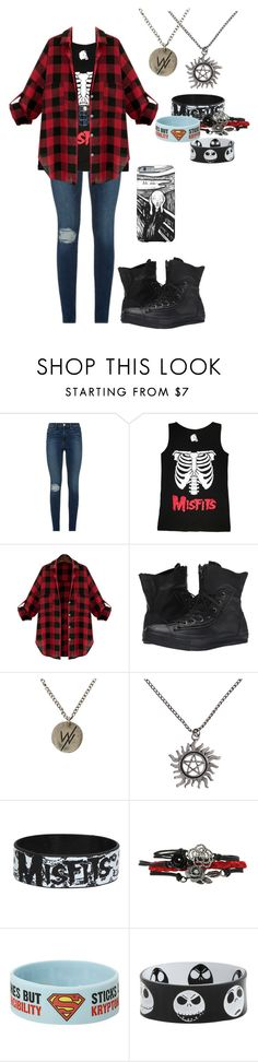 """""""Untitled #278"""" by breemanor on Polyvore featuring Frame Denim, Converse, women's clothing, women, female, woman, misses and juniors"""