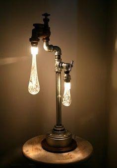 Faucet water drop lamp