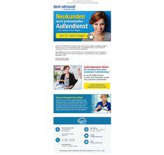 Newsletter Neukundengewinnung für dent-allround