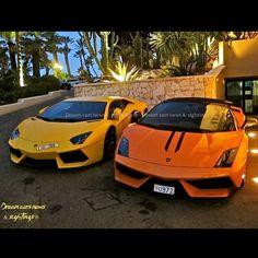 #lamborghini #aventador vs #gallardo #performante Dream Cars, Lamborghini Supercar, Motorbikes, Super Cars, Cycling, Vehicles, Instagram Posts, Biking, Bicycling