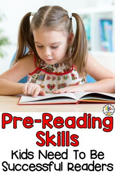 Before we can teach our pre-readers to read, it is important to first build the foundation for lifelong learning and reading success. There 5 Pre-Reading Skills Kids Need To Be Successful Readers including motivation to read, language skills, letter knowledge, concepts of print, and phonemic awareness. Click on the picture to learn more about these 5 reading readiness skills and get your free Pre-Reading Skills Checklist! #prereadingskills #readingreadiness #prereaders #learningtoread