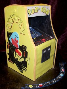 arcade game cake