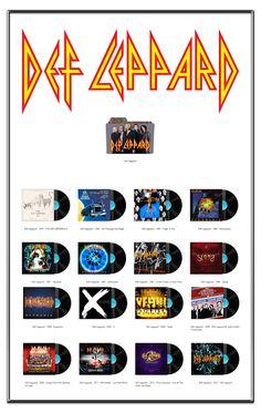 Album Art Icons: Def Leppard