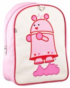 Svenja the Girl Robot Little Kid Backpack and Lunchbox - Svenja the Girl Robot is always zipping off to space and while keeping your belongings safe! Constructed from durable nylon and laminated. Natural Toys, Natural Baby, Robot Girl, Plan Toys, Cute Backpacks, Baby Toys, Wooden Toys, Lunch Box, Bags