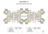 Pristine City Wagholi Floor Plan