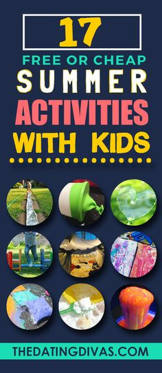 My kids are going to love these awesome activities! www.TheDatingDivas.com