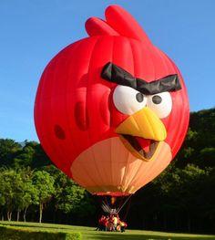 The Albuquerque International Balloon Fiesta - Special Shapes Angry Bird Albuquerque Balloon Festival, Albuquerque Balloon Fiesta, Air Balloon Rides, Hot Air Balloon, I Love Mexico, New Mexico, Expo 67 Montreal, Vintage Neon Signs, Air Ballon