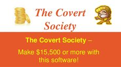 The Covert Society System Review by Trading Systems via slideshare