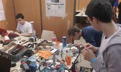Lycée Blaise Pascal Rouen - Coupe de France de Robotique 2016