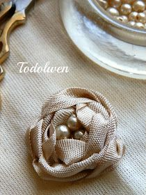 DIY: Seam Binding Roses~ excellent tutorial, with lots of easy to follow pictures!