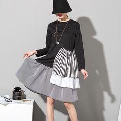 Spring women's striped shirt dress //Price: $30.99 & FREE Shipping //     #hashtag3