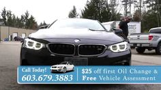 BMW Repair Portsmouth NH - Online Discount - Precision BMW Repair  Looking For A BMW Repair Center in Portsmouth NH? Mention This Video and Get $25 Off Your First Oil Change! Call 603.679.3883 to Schedule Your Appointment!  You Can Also Visit Us At - http://bimmercars.com/