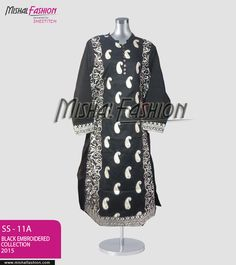 Black dresses are here for you, grab these in very cheap rates. Price: PKR 1650 USD: $17 Place your order through Call / SMS / Whatsapp / Viber  ☛{+92-322-3504542} #BlackEmbroidered #BlackDresses #BlackCollection