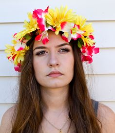 How to Make a Flower Crown | Pretty Flower Headbands