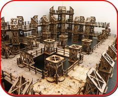 Laser Cut Mdf Terrain for Wargames by T.J.H Models by T.J.H Models — Kickstarter