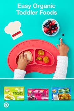 Made with organic ingredients and specially formulated for growing kiddos, Earth's Best wholesome foods provide nutritious meals that meet dietary guidelines and fuel your toddler. These frozen foods are easy to make and are as nourishing as they are delicious. From lunch to dinner to snacks, Earth's Best has something for every foodie.