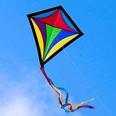 Colourful kite