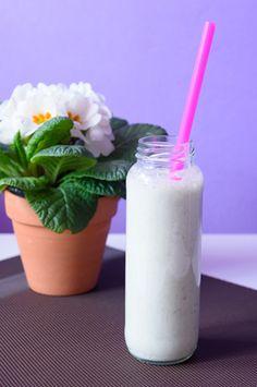 Koktajl białkowy z kiełkami pszenicy #koktajl #białkowy #mięta #kiełkipszenicy #shake #protein #mint #cococktail