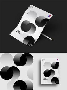 Super Gradient / One Day One Poster on Behance Web Design, Book Design, Layout Design, Print Design, Circle Graphic Design, Graphic Design Posters, Graphic Design Inspiration, Design Graphique, Art Graphique