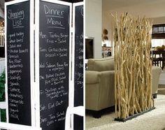 Los biombos suelen servir para separar espacios, pero hoy queremos mostraros cómo decorar con biombos.  #decoracion #hogar #biombo