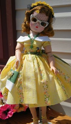 """BEAUTIFUL 21"""" CISSY IN A LOVELY STREET DRESS! #Dolls"""