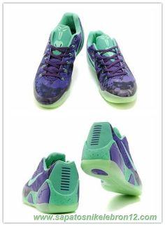 tenis barato de marca 653972-003 Nike Kobe 9 Roxo