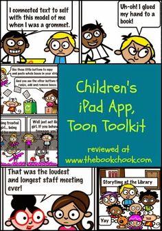 The Book Chook: Children's iPad App, ToonToolKit #iOSedapp #edtech