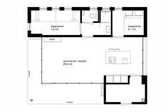 Ontwerp vakantiehuisje Vlieland | BNLA Architecten