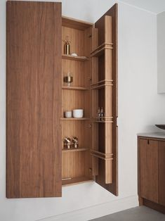 Bamboo kitchen design Interior Design Kitchen, Cupboard, Tall Cabinet Storage, Bamboo, Furniture, Studio, Home Decor, Kitchens, Clothes Stand