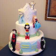 Heroínas e Frozen Cake