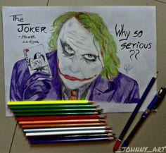 "#5 ""Why so serious???""-The Joker-Heath ledger, using colorpencils.❤ #thejoker  #heathledger #batman #fanart #legend #batmanfan #Pencildrawing #colorpencil  #artforshoutout #artsgallery #artsy #artinspired #artistique #arthomepage #dailyartistiq #worldofartists #artprime #artinspired #mizu_arts_help #instaart #worldofdrawing#art_spotlight #artcollective #illustratenow #art_conquest #young_artists_help #youngartist#johnnys_artbook"