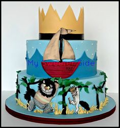 Where The Wild Things Are Birthday Cake!!!