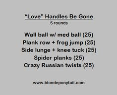 Valentine's Day Workout: Love Handles Be Gone!