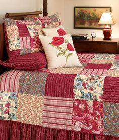 """Gypsy Patchwork"" quilt from Country Curtains - love the colors"