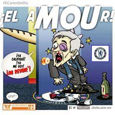 """El aMOUr"" #zheko_grafico #ElCartonDelDia #DisfrutenloConLeche #MonerosFutboleros"