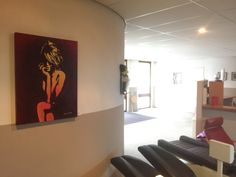 Art from www.artilina.com in fitness centre www.proffit-hedel.nl