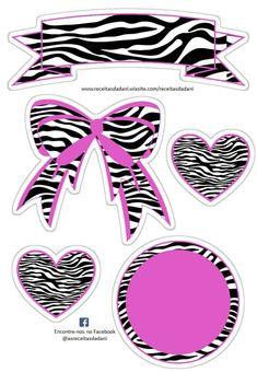 Scrapbook Titles, Scrapbook Paper, Paper Art, Paper Crafts, Pocket Scrapbooking, Minnie Mouse Party, Zebras, Sticker Paper, Paper Piecing