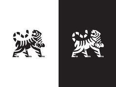 Tiger Finished designed by matthieumartigny for Wantedesign. Connect with them on Dribbble; the global community for designers and creative professionals. Korean Logo, Martial, Tiger Logo, Tiger Design, Logo Design, Graphic Design, Tiger Tattoo, Black And White Drawing, Animal Logo