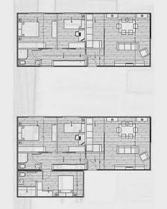 Mi Casa en un Container o Contenedor Maritimo: otros planos y diseños Shipping Container Home Designs, Container House Design, Shipping Containers, Casas Containers, Hallway Storage, Underground Homes, Pause, Modular Homes, Home Design Plans