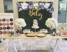 Baby Blue Hydrangea, Baby Shower Planning and Decoration