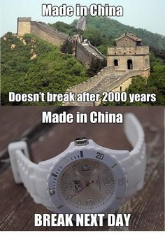 China then and now.