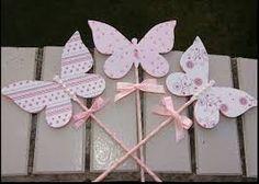 Resultado de imagem para festa shabby chic borboleta