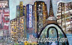 Wies Telling schildert inmiddels ruim tien jaar. Zij volgde diverse cursussen. Zij maakt nu deel uit van een schildersgroep, die zijn atelierruimte heeft in buurtcentrum De Coenen in Amsterdam. Haar werk is zeer gevarieerd en beweegt zich tussen figuratief en abstract. Zie ook http://www.em-ha-em-art-productions.nl/mainport/kunstenaars/wiestelling/