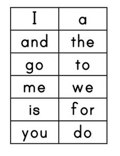 Worksheets Flash Card Of Words kindergarten sight word flash cards printable reocurent flashcards for words cards