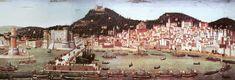 La Tabla Strozzi - Francesco Rosselli (1472) - Vista de Nápoles