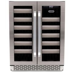 Whynter BWR401DS Elite 40Bottle Seamless Stainless Steel Door Dual Zone Builtin Wine Refrigerator *** Check out this great product.