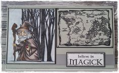 My Crafty world: Visible Image new Fantasy Stamp Range