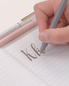 Simple Hand Lettering Techniques - K